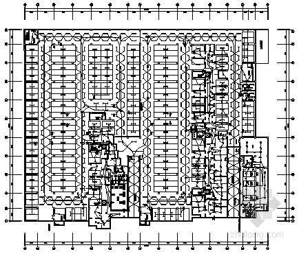 [北京]小区住宅楼地下车库电气施工图纸
