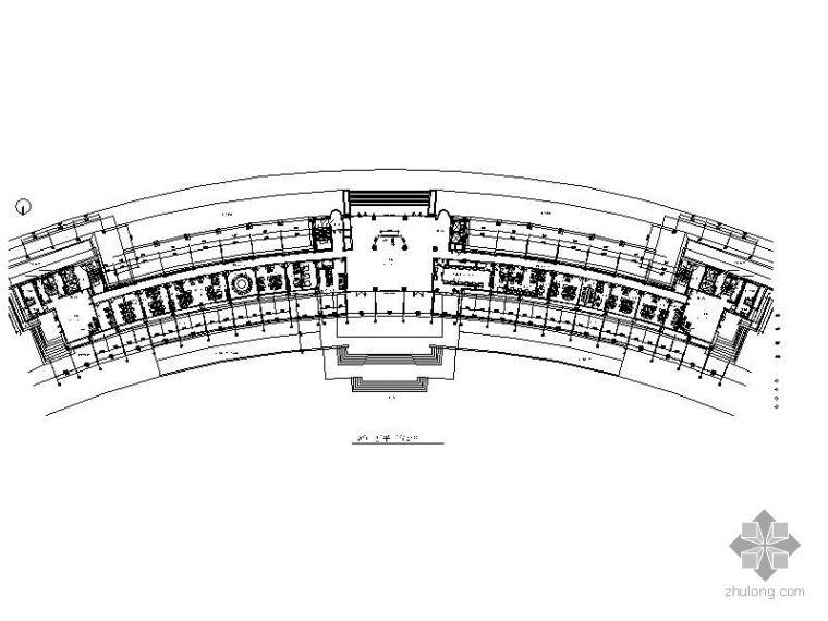 [湖北]某政府接待中心办公楼装修图(含效果)