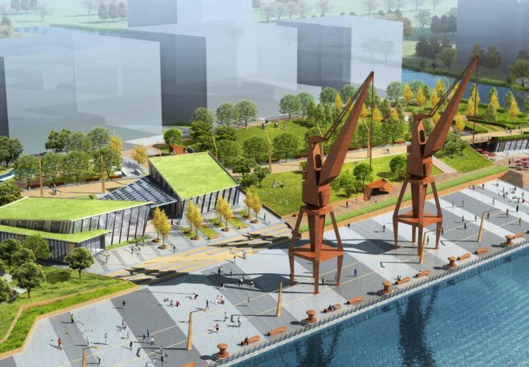 [上海]城市滨江公共绿地景观设计方案文本(PDF+77页)