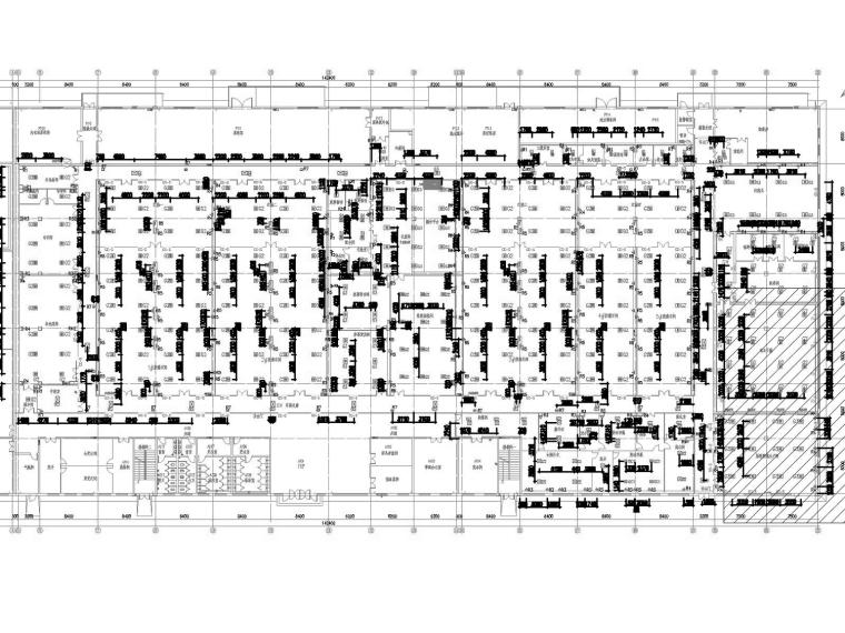 [重庆]生物制药工厂净化空调通风防排烟系统设计施工图(自控系统)