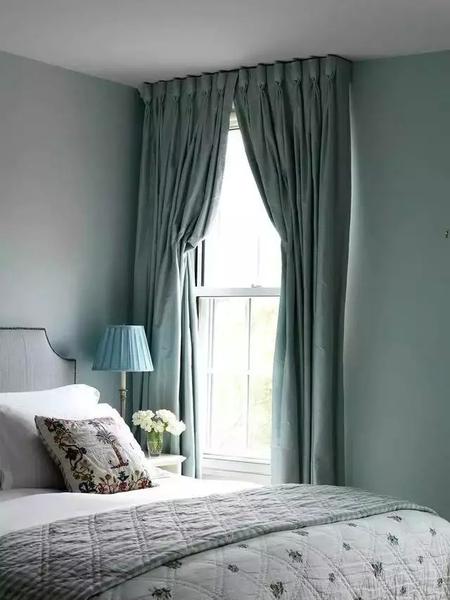 时尚客厅装修,2016新款流行现代客厅的窗帘效果图
