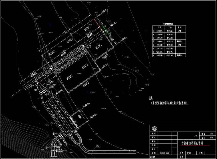 水电站工程初步设计施工图