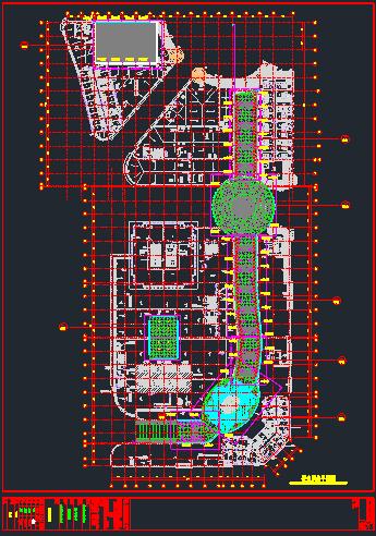 室内步行街采光顶幕墙结构施工图_11