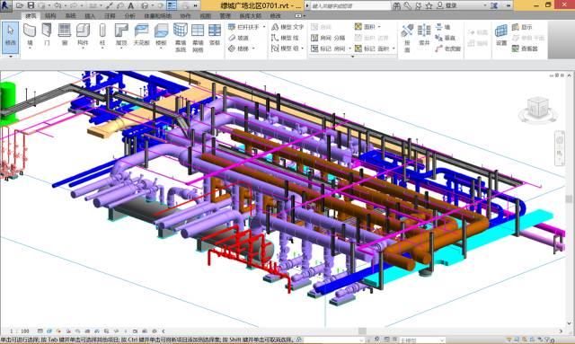 看BIM技术如何应用于风管水管预制安装?_2