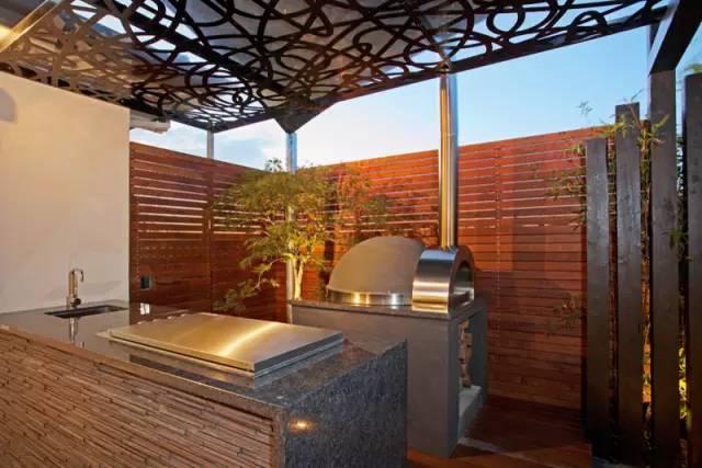 赶紧收藏!21个最美现代风格庭院设计案例_161