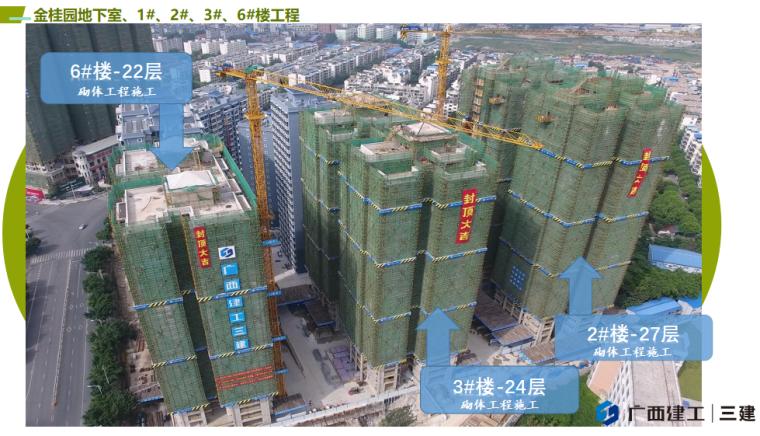 金桂园地下室工程创广西建筑业绿色施工示范工程工作汇报
