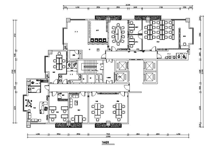 亿盟科技公司办公大楼设计施工图(附效果图)