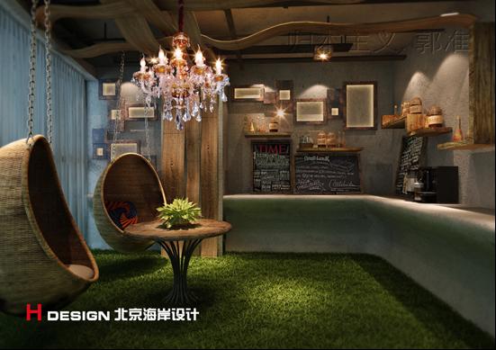 天津塘沽区咖啡厅设计案例_9