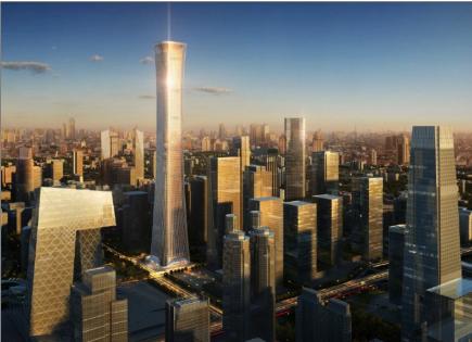 """访京城第一高楼""""中国尊""""项目方案和初步设计负责人刘鹏"""