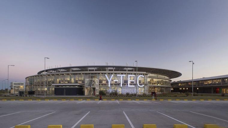 里程碑式的环形建筑Y-TEC技术综合体