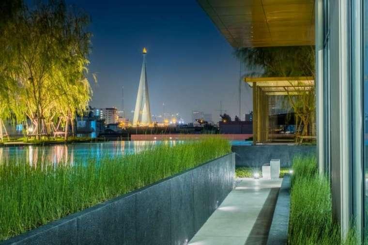 曼谷日本工艺与现代融合的Life住宅-9