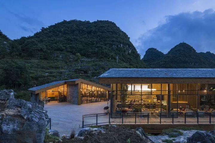 中国第一个百米崖壁上的美术馆!_29