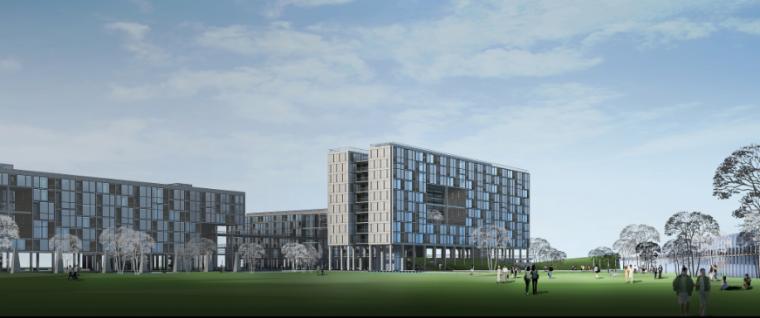 超高层现代风格未来广场项目建筑设计方案文本(含CAD)_3