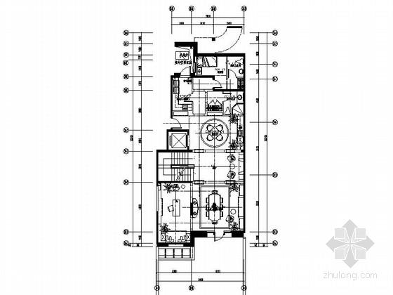 [北京]优雅法兰西风情三层别墅住宅CAD施工图(含效果图、实景图)