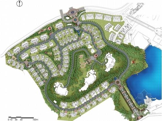 [福建]意大利宫廷风格山地居住区景观设计方案(国际知名设计机构)