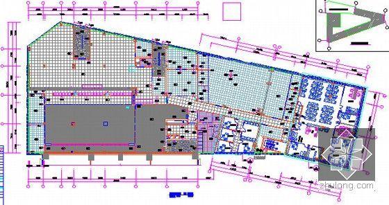 [广东]2015年广场文化活动中心装修工程预算书(附施工图纸)-08三层物料图