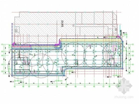 [江苏]11米深基坑承压水疏干井降水施工图