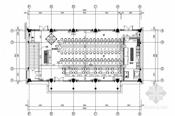 [南京]原创设计新型餐饮高档火锅店装修施工图(含效果及skp模型)
