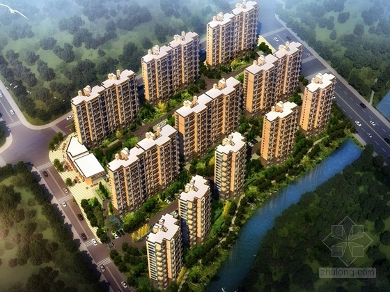 [浙江]高层现代风格住宅区规划设计方案文本