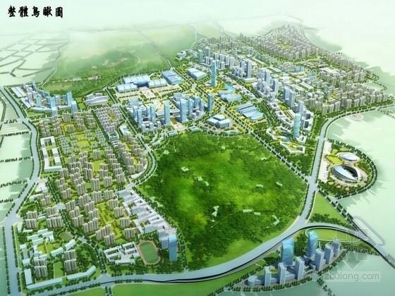 [新疆]创意国际会展中心片区及附属社区城市景观规划设计方案