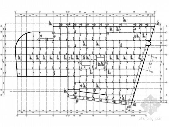 四层大型商业广场框架结构施工图(预应力管桩、地下室)