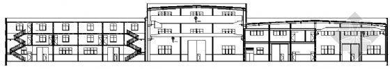 某高标准两层厂房建筑、结构施工图