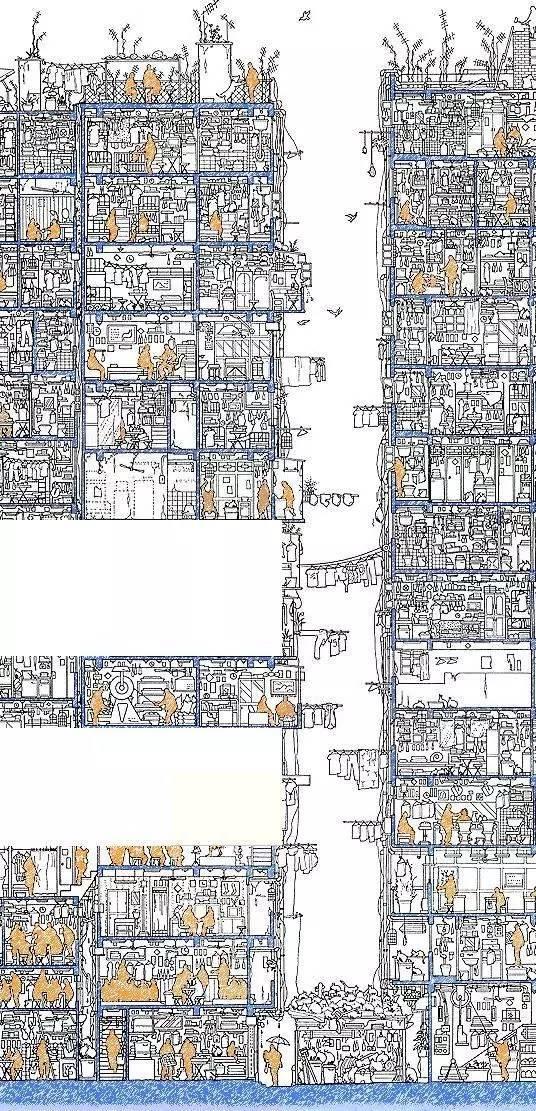 那些霸气的建筑剖面图_4