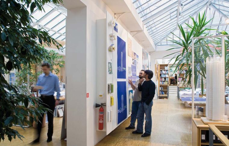 建筑师给自己设计的办公室,什么样的都有_33