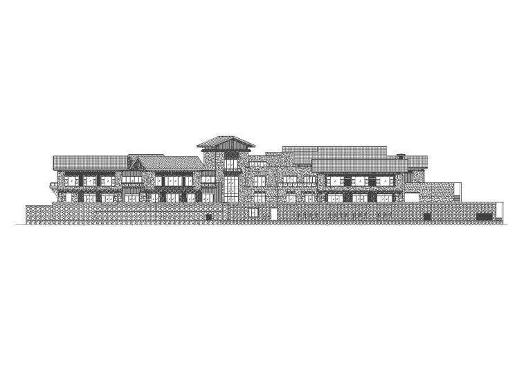 [四川]九寨沟丽思卡尔顿酒店设计施工图(CAD)
