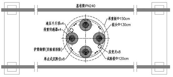 地锚系统在钻孔灌注桩轴向大吨位静载试验中的应用_9