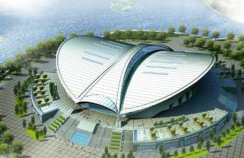 沧州体育馆结构设计(PPT,17页)