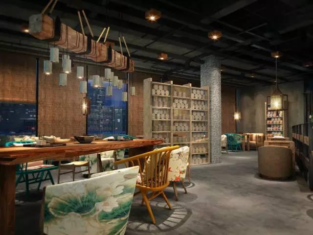 设计赏鉴 | 新中式茶楼