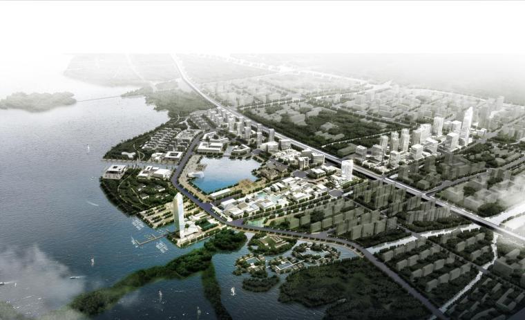[江苏]现代白色体量多功能城市综合体建筑设计方案文本