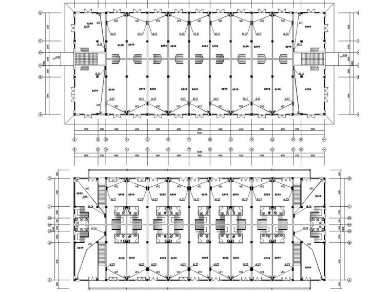 [安徽]二层商业楼电气施工图最新设计