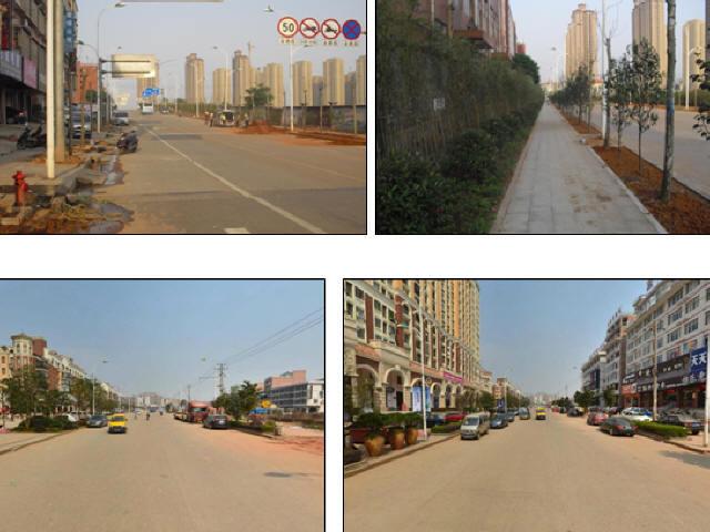 [湖南]城市产业园道路水泥路面加铺加罩沥青层改造设计图47张CAD