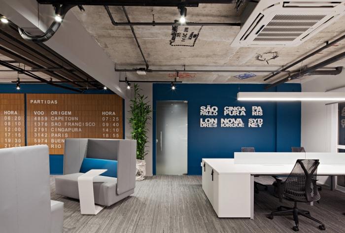 清晰易懂的方式体现办公室装修设计的概念