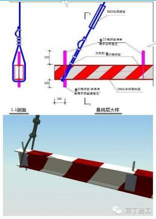 一次搞懂型钢悬挑脚手架施工工艺(含验收)_10