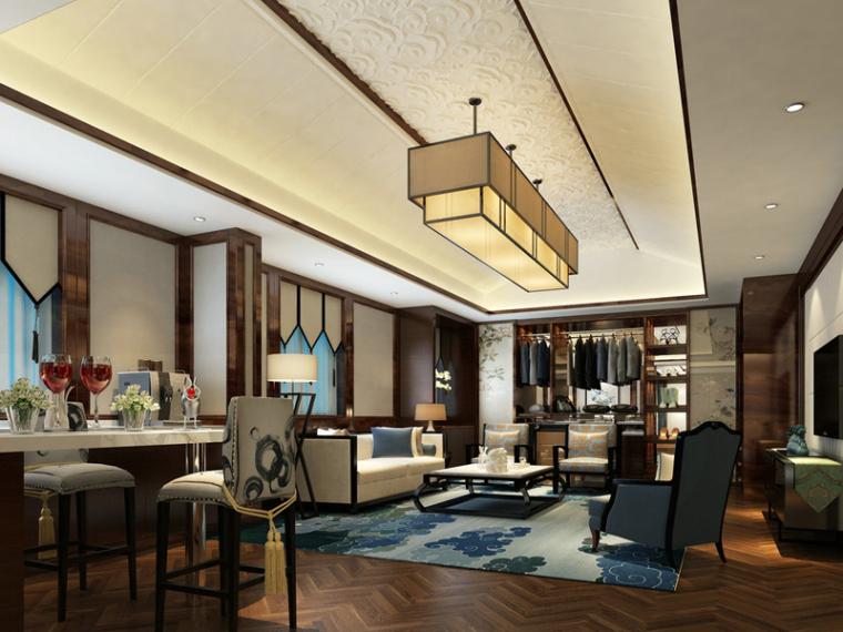 温馨客餐厅3D模型下载