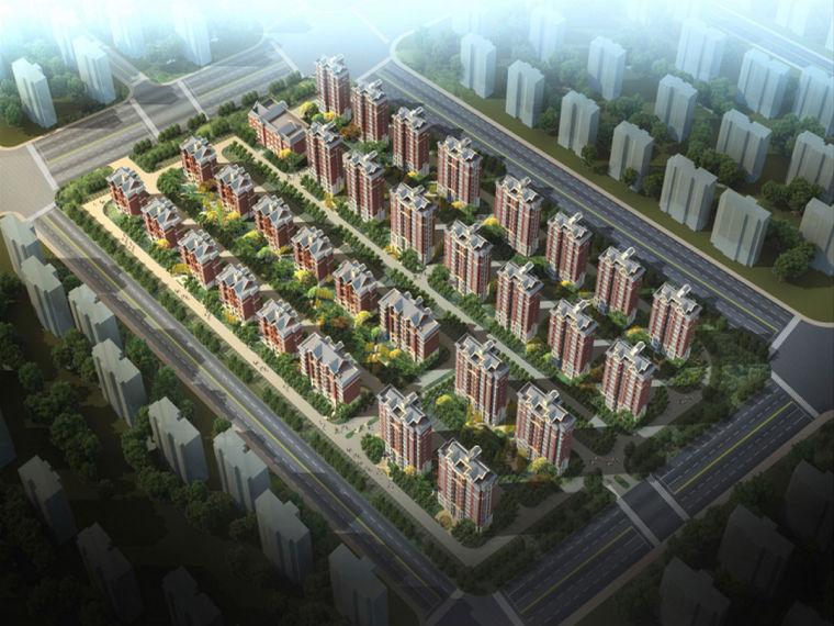 天津剪力墙结构商品房安全施工组织设计