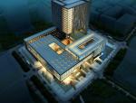 [深圳]高层现代风格点式窗洞档案馆建筑师设计方案文本