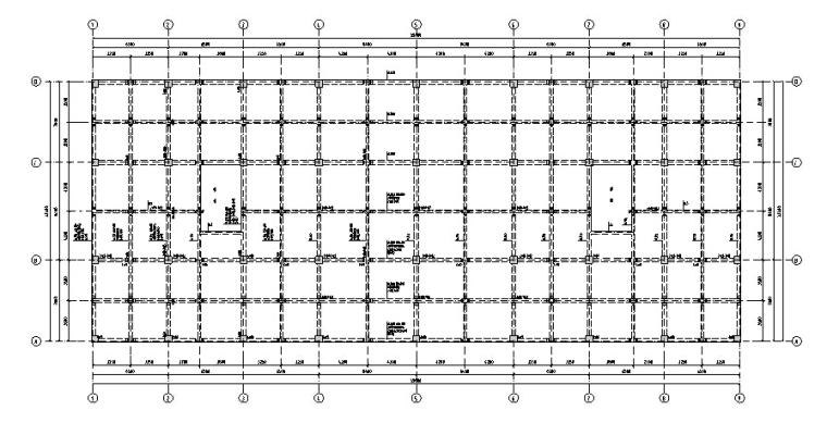 某4层商场框架结构毕业设计(计算书、施工组织/建筑结构设计)_7
