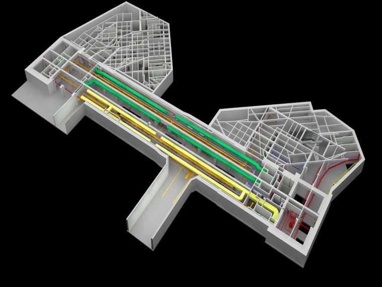 上海地铁站BIM技术应用