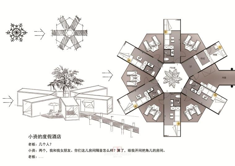 一个集装箱住宅12套室内设计方案