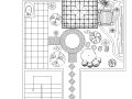 屋顶花园及庭院景观全套CAD施工图纸