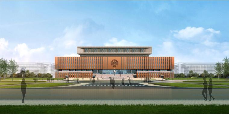 学校图书馆工程主体结构施工方案(框剪结构,附图丰富)