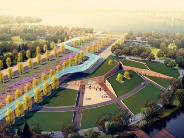 城市主干道市政工程实施性施工组织设计181页(路桥交通照明绿化)