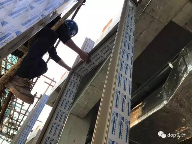 玻璃幕墙与装饰收口问题及施工流程_8