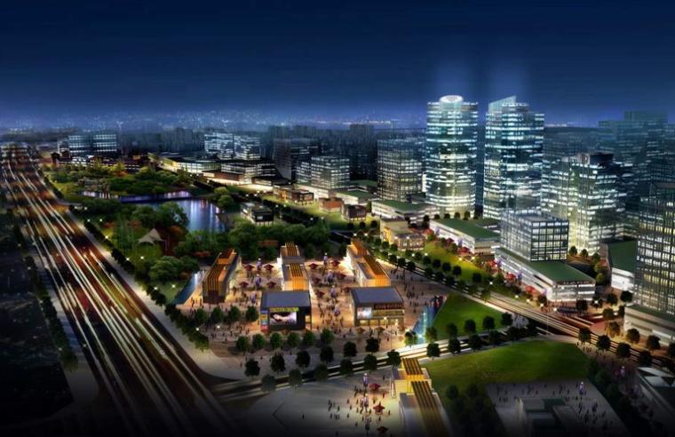 [河北]固安工业区核心区概念性规划设计方案文本