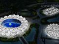 深圳大運中心主體育場鋼屋蓋結構設計