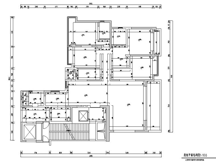 海归派轻奢家居样板房设计施工图(附效果图)_5
